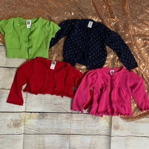 Carter's Cardigan Sweater Lot Size 18M